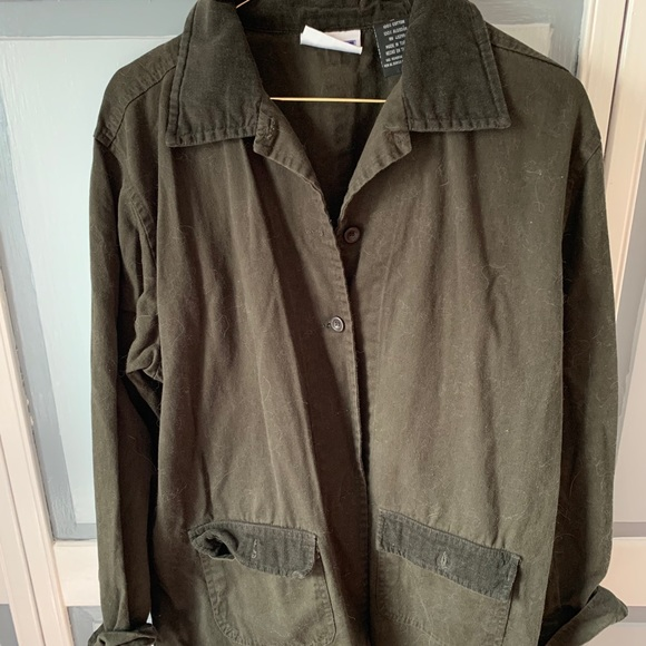 Army green Erika & co trench coat